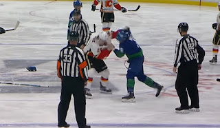 hockey fight Matthew Tkachuk JT Miller