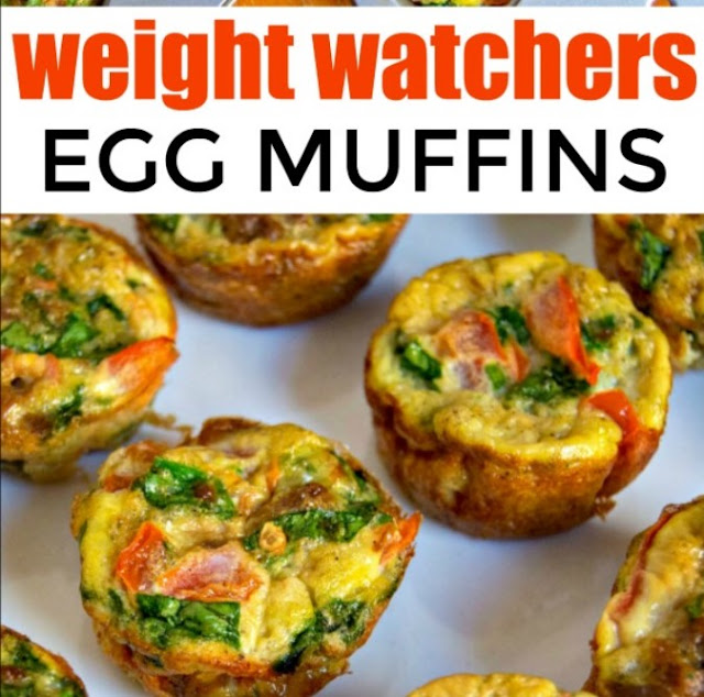 Egg Muffins - Weight Watchers Breakfast Ideas