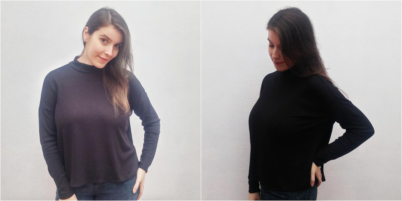 Camisola preta // H&M // 3,99€ (antes 9,99€)