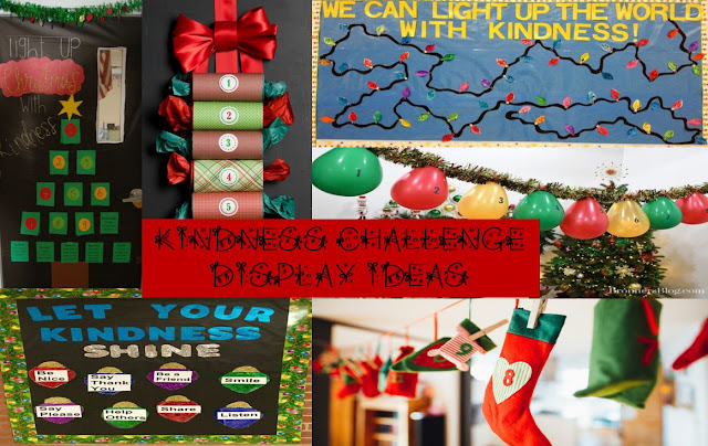 Countdown the days to Christmas by showing kindness in a different way each day.