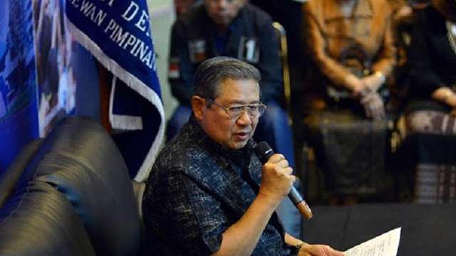 SBY Minta Kader Demokrat Dukung Penuh Pemerintahan Jokowi-Maruf
