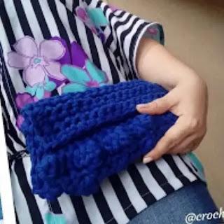 Canguro en Trapillo a Crochet