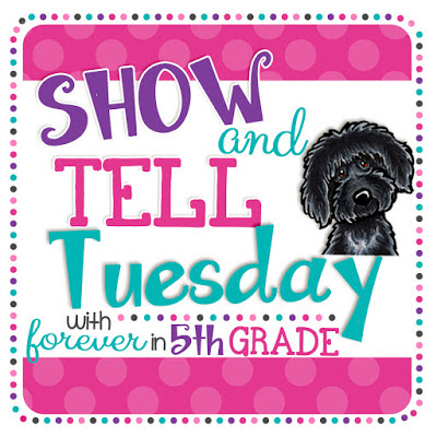http://foreverinfifthgrade.blogspot.com/2017/07/show-tell-tuesday-loving-summer.html