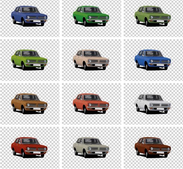 Morris Marina original colour options in t-shirts
