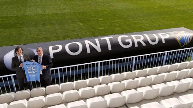 Pont Grup asegura tres años más su compromiso con el Málaga