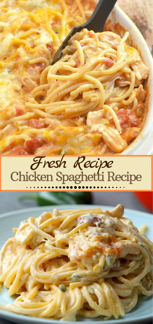 Chicken Spaghetti Recipe #dinnerrecipe #food #amazingrecipe #easyrecipe