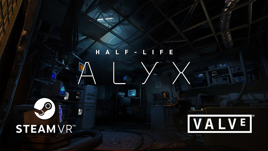 half life alyx vr game revealed valve first-person shooter steam htc vibe oculus rift