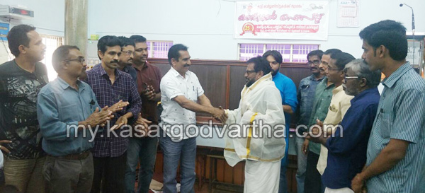 Kerala, News, Malappuram, Felicitation for Artist Sageer.