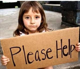orphan child,help
