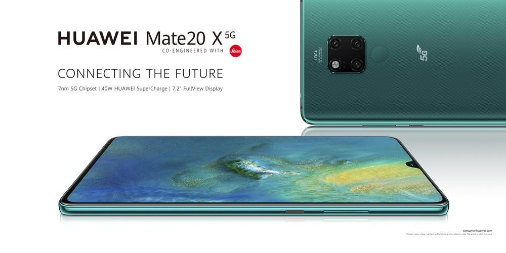 الهاتف Huawei Mate 20X 5G أصبح متوفرًا أخيرًا للشراء، وهو متاح الآن في الإمارات العربية المتحدة