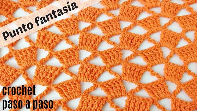 Tutorial Punto Fantasía a Crochet