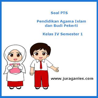 Contoh Soal PTS / UTS 1 Pendidikan Agama Islam Kelas 4 K13 T.A 2019/2020