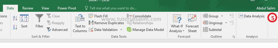 Cara Pasang Data Analysis Pada Excel.