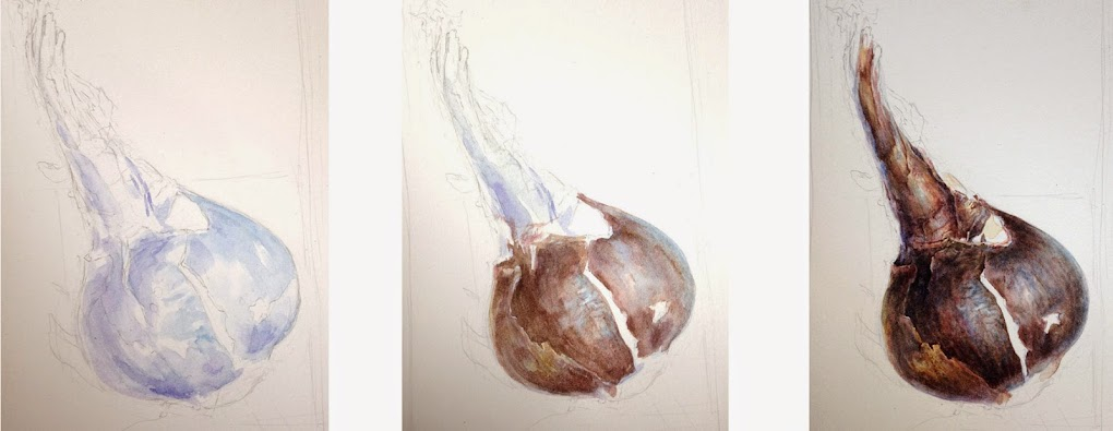 Bulb painting
