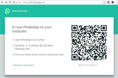 mengirim data dari komputer ke whatsapp