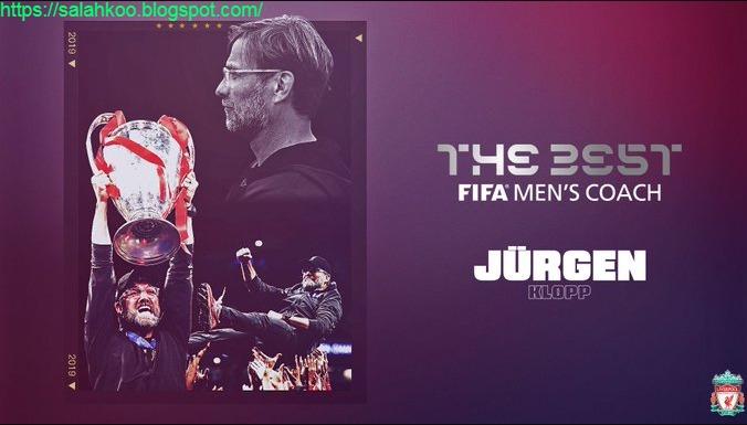 يورغن كلوب مدرب ليفربول يفوز بجائزة أفضل مدرب في FIFA