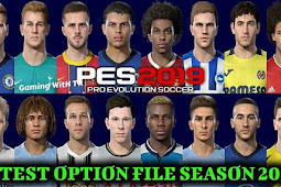 Option File For PES Professional Patch V3 - PES 2019