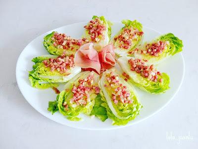 recopilatorio reto alfabeto salado, recetas con ajo y jamón