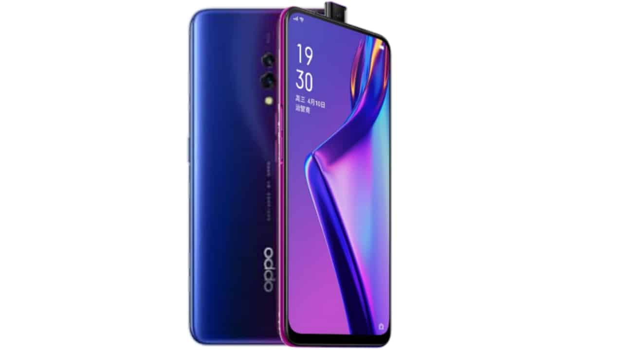 Oppo k3 launched in India, equipped with the Triangagon 710 processor and tap-up selfie camera.