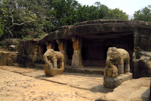 The Ganesha Cave, Udayagiri, Bhubaneshwar