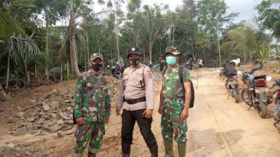 Satgas TMMD Ke-109 di Pandeglang, Tularkan Rasa Kebersamaan Dalam Bekerja