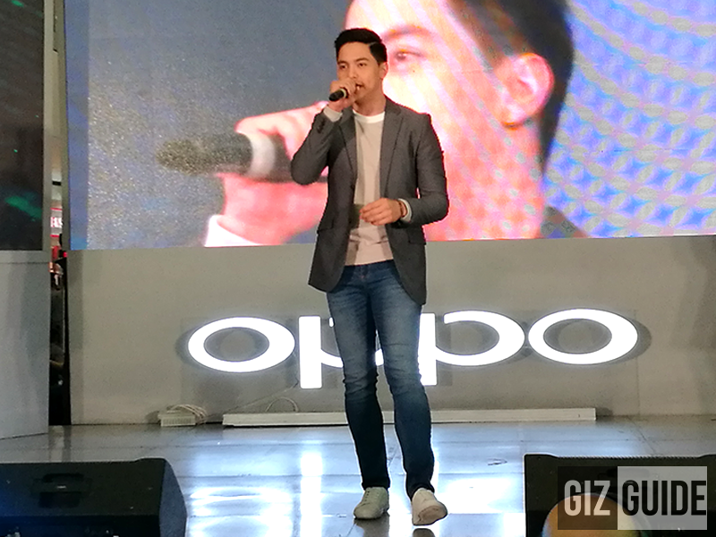 Mr. Alden Richards as Oppo's latest endorser