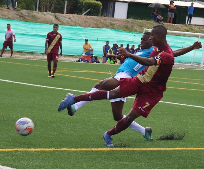 Emocionante empate de DEPORTES TOLIMA frente al Medellín como local, por la Supercopa Juvenil FCF