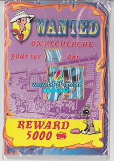 Lucky Luke, Wanted, Billy the Kid, 2001
