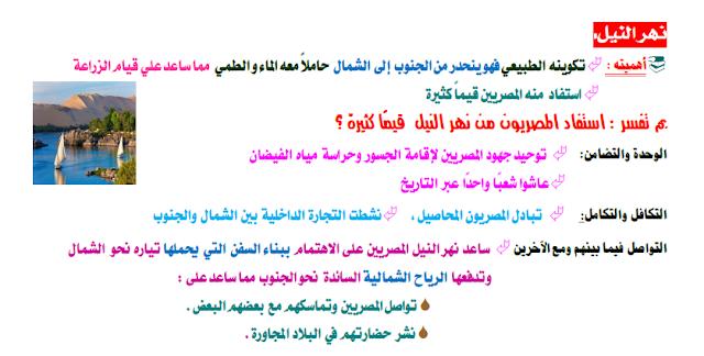 اولي ثانوي | الوحدة الاولي | مدخل لدراسة حضارة مصر والعالم القديم |  الدرس الثالث عوامل قيام الحضارات