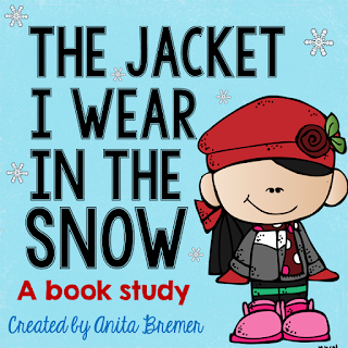 Book study companion activities to go with The Jacket I Wear in the Snow- perfect for Kindergarten!