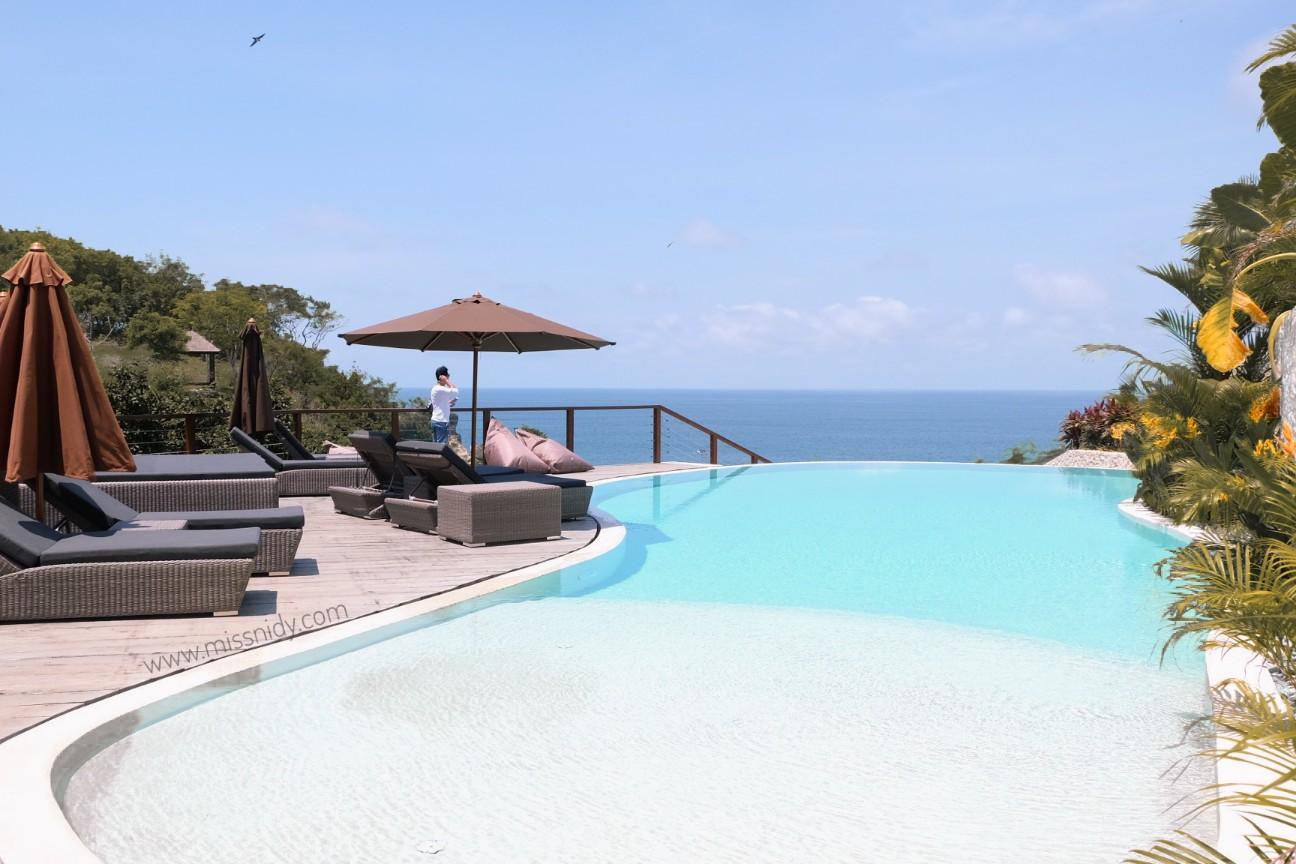 private infinity pool villa in bali