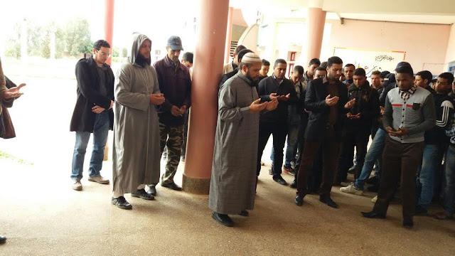 مديرية سيدي بنور:نعي لوفاة الأستاذ بوشعيب نعمان أستاذ مادة اللغة العربية ثانوية دكالة التأهيلية