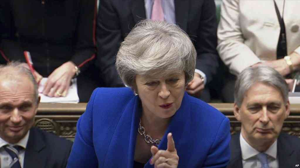 La primer ministro de Gran Bretaña Teresa May / AP