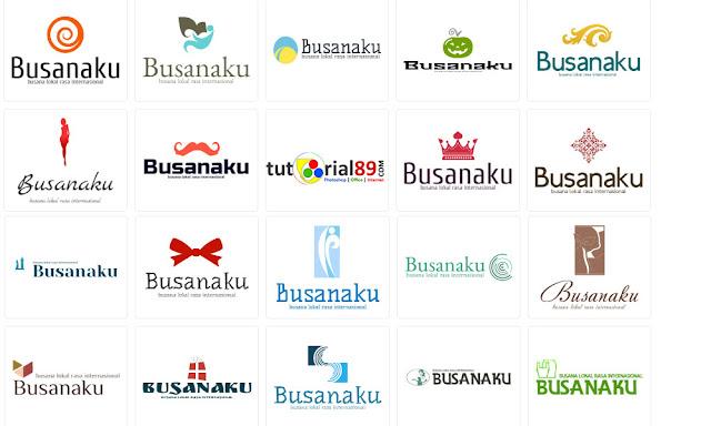 Cara membuat logo fashion secara online dengan mudah