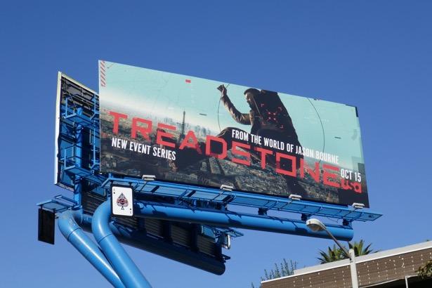 Treadstone series premiere billboard