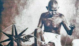 gandhi-and-khadi