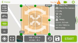 Pemetaan Menggunakan DJI Mavic Pro