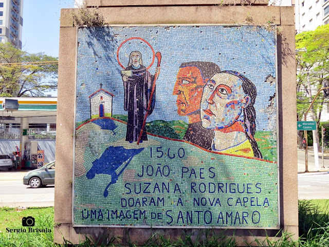 Monumento a Borba Gato (imagem de Santo Amaro)