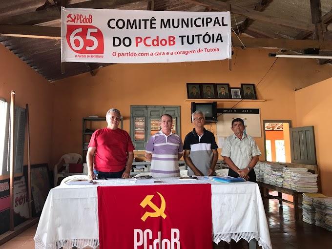 Deputado Levi Pontes participa de Convenção Municipal do PCdoB em Tutoia
