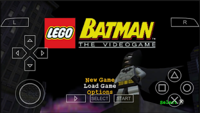 LEGO Batman The Video Game ISO PSP Android