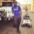 (Photos) Paul Okoye and son show off their matching white jeeps