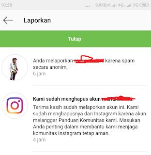 Cara Report Akun Instagram Palsu