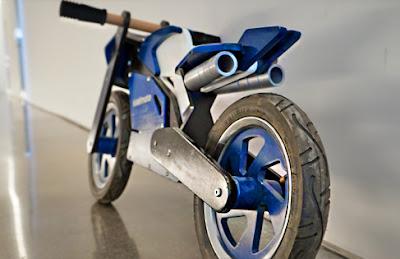 дървен мотор колело за балансиране мотоциклет за равновесие Кидимото
