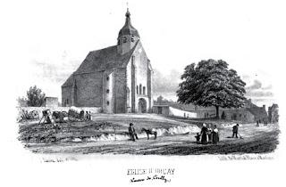 patrimoine de l'Allier église d'Orcay