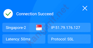 connection succeed