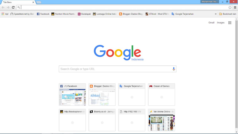 cara membuat google chrome menjadi