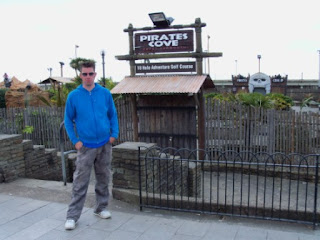 Pirates Cove Adventure Golf course in Great Yarmouth