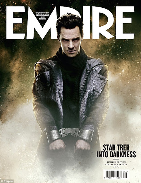 John Harrison (Benedict Cumberbatch) Empire STAR TREK INTO DARKNESS Cover
