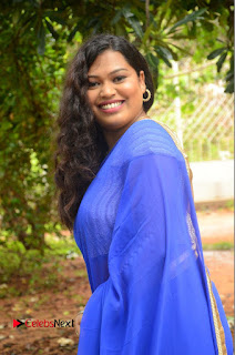Actress Maggi Meghna Pictures in Saree at Lovers Park Movie Opening 0081