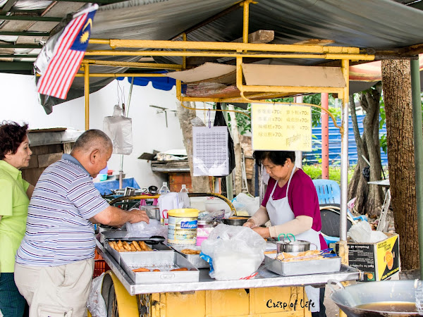 Teluk Wanjah Vegetarian Fried Cakes @ Alor Setar